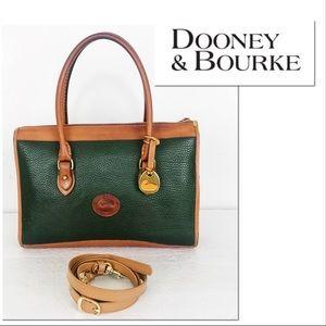 Dooney & Bourke Vintage AWL Leather Satchel Bag